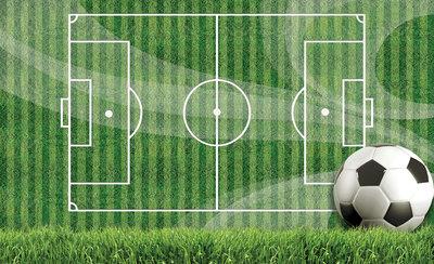 Voetbal Fotobehang 3387P8