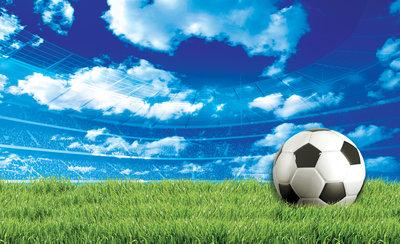 Voetbal Fotobehang 3388P8
