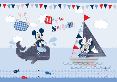 Mickey & Minnie Mouse Fotobehang 831P8