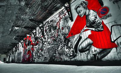Graffiti Fotobehang 10517P8