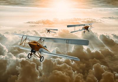 Vliegtuigen Fotobehang 10605P8