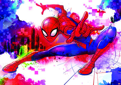 Spiderman Fotobehang 10608P8