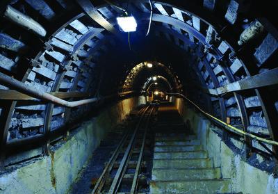 Mijn Tunnel Fotobehang 10614P8