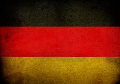 Duitse Vlag Fotobehang 10678P8