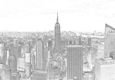 New York Fotobehang 10688P8