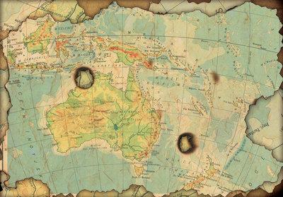 Fotobehang Wereldkaart Klassiek 10947P8