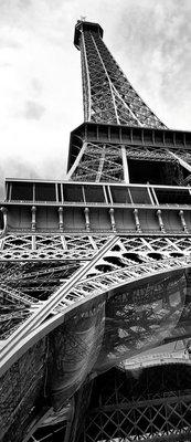 Eiffel Tower Deurposter Fotobehang 221VET