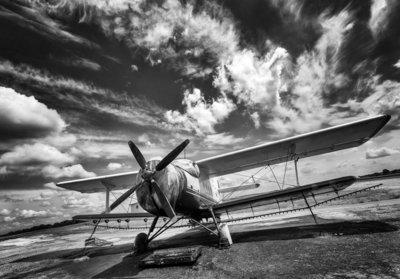 Fotobehang Vliegtuig 11384P8