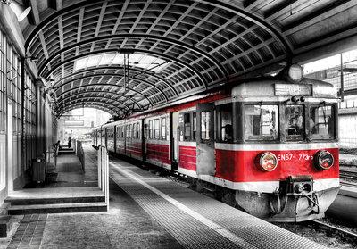 Fotobehang Metro 11392P8