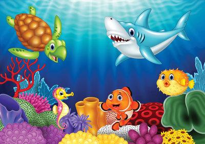 Fotobehang Onderwaterwereld 11415P8