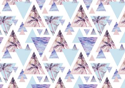 Tropisch Geometrisch Fotobehang 10726P8