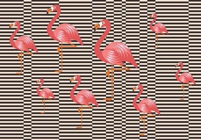 Flamingo Fotobehang 11143P8