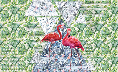 Flamingo Fotobehang 11089P8
