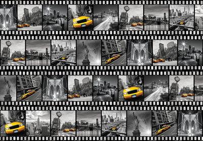 New York Collage Fotobehang 10457P8