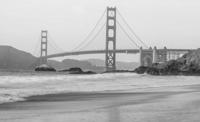 San Francisco Golden Gate Bridge Fotobehang 10965P8