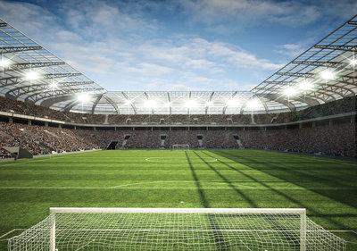 Voetbal Stadion Fotobehang 11798P8