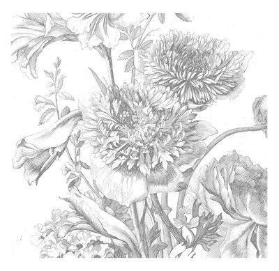 KEK Amsterdam Engraved Flowers IV WP.334 (Met Gratis Lijm)