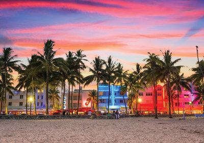 Miami Strip Fotobehang 11756P8