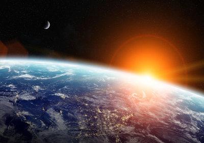 Ruimte Aarde Fotobehang 11793P8