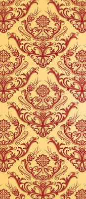 Pattern Abstract Vintage Deurposter Fotobehang 516VET