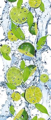 Fresh Limes Deurposter Fotobehang 288VET