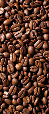 Coffee Beans Deurposter Fotobehang 182VET