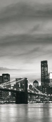 New York Deurposter Fotobehang 011VET