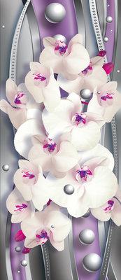 Flowers Flower Floral Deurposter Fotobehang 1452VET