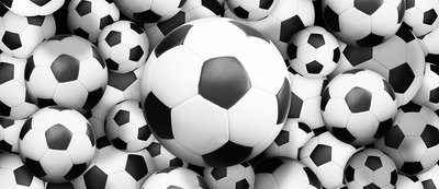 Footballs Deurposter Fotobehang 3380VET