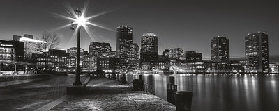 New York at Night Panorama Fotobehang 275VEP