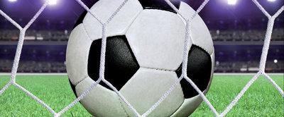 Ball in Goal Panorama Fotobehang 155VEP