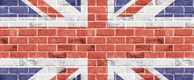 The United Kingdom Flag Panorama Fotobehang 518VEP