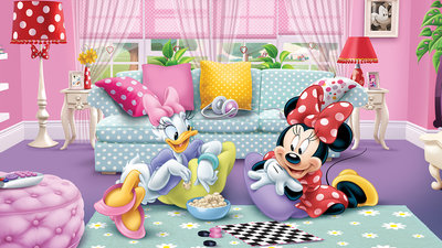 Mickey & Minnie Mouse Fotobehang 1674P8