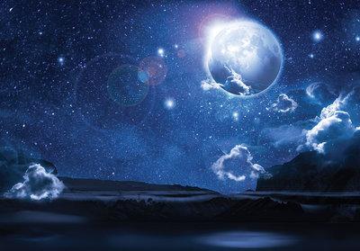 Night Sky Fotobehang 12097P8