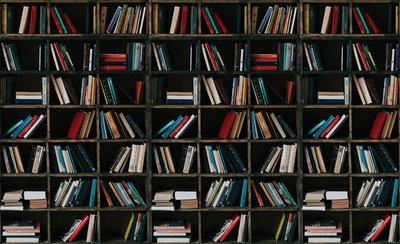 Boekenkast Fotobehang 12168P8