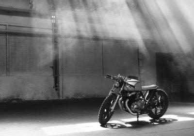 Motorfiets Fotobehang 12676P8