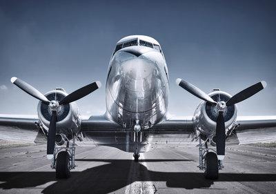 Propellor Vliegtuig Fotobehang 12644P8