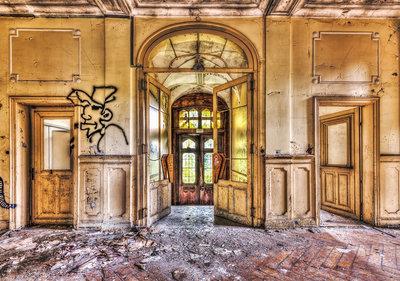 Industrieel Huis Fotobehang 12633P8