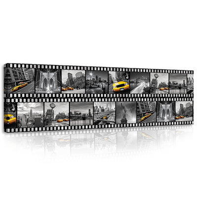 Film Strip from New York Canvas Schilderij PP10457O3