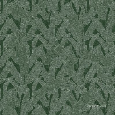 BN Wallcoverings Riviera Maison 30608 Tropical leaf green