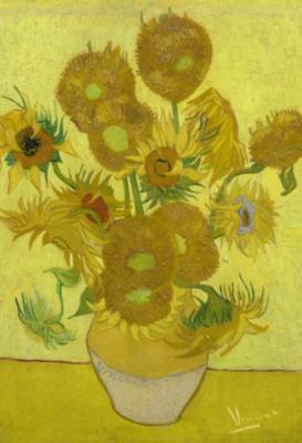 BN Wallcoverings Van Gogh 30542 Zonnebloemen (Met Gratis Perfax Lijm!)