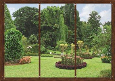 Dutch Wallcoverings AG Design Window In Garden (4 Delen) FTS1314