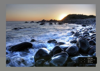 Dutch Wallcoverings AG Design Sea Sunset (4 Delen) FTS1311