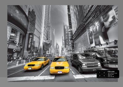 Dutch Wallcoverings AG Design Yellow Cab (4 Delen) FTS1310