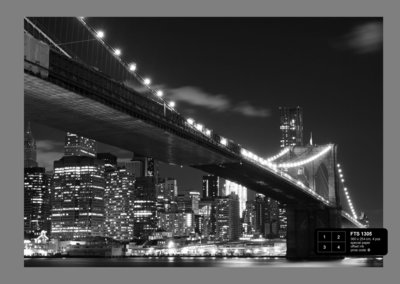 Dutch Wallcoverings AG Design Brooklyn Bridge (4 Delen) FTS1305