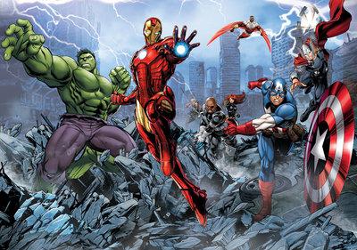 Marvels Avengers Assemble Fotobehang 960P8