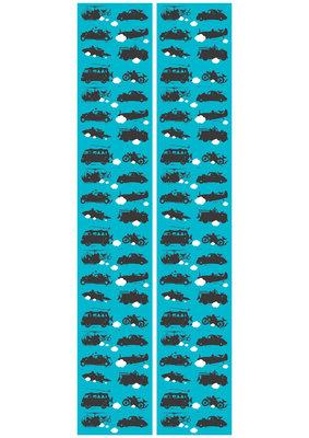 KEK Amsterdam vehicles turquoise WP.014 (Met Gratis Lijm)
