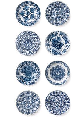 KEK Amsterdam Royal Blue Plates WP.373 (Met Gratis Lijm)