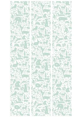 KEK Amsterdam animal alphabet groen WP.044 (Met Gratis Lijm)