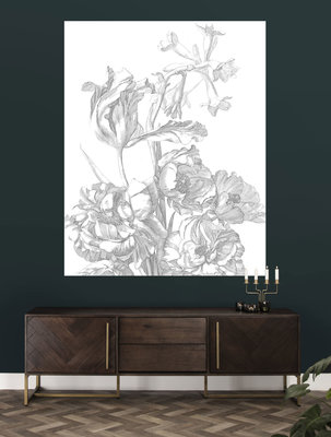 KEK Panel Engraved Flowers PA-015 (Met Gratis Lijm)